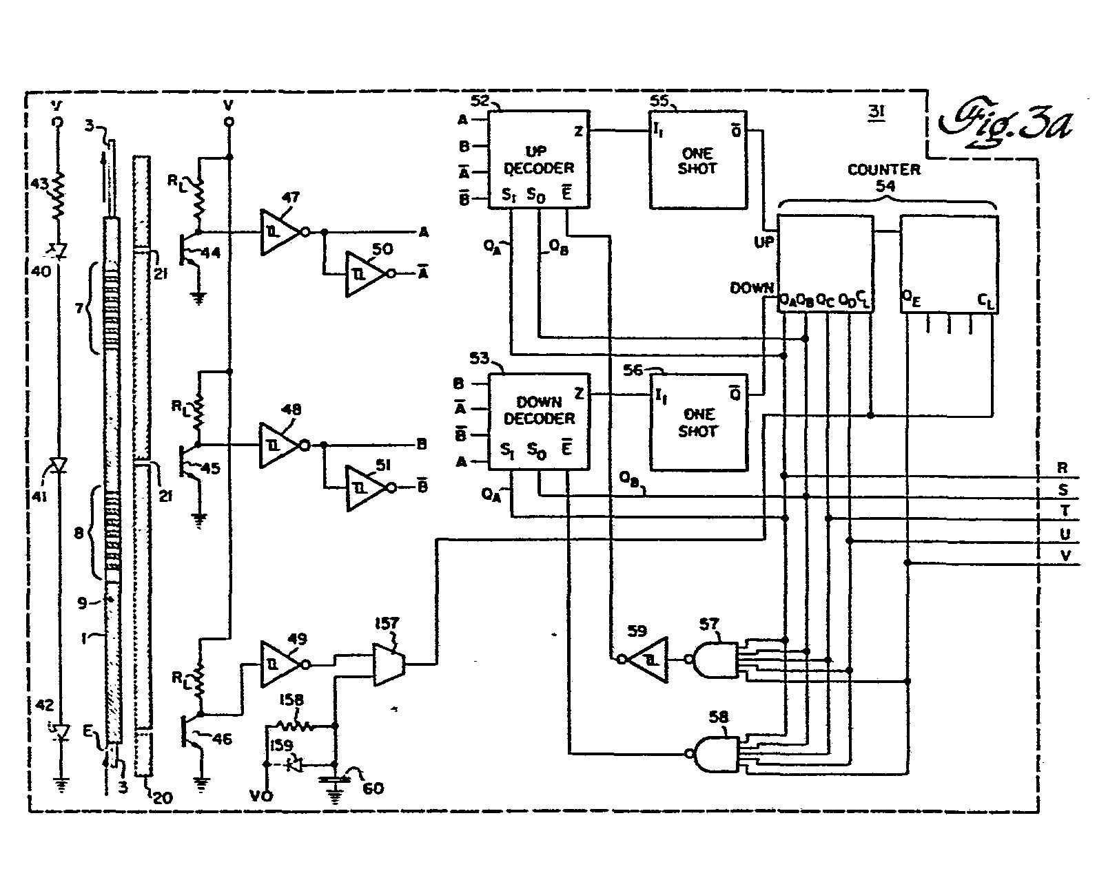 Optoelectronic Incremental Position Encoder Patent 0076509 Circuit Diagram Of Function Generator The Nonlinear Comprises Parallel Coupled Amplifier Stages Outputs Which Are Selectively Clamped Depending On
