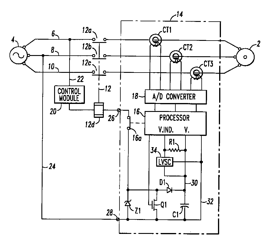 Control powered overload relay - Patent 0778645