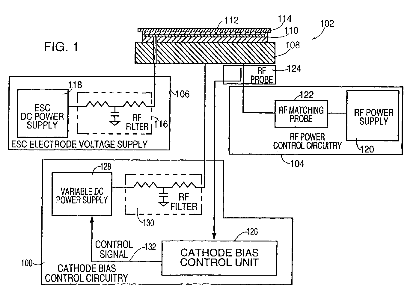 Apparatus and method for actively controlling the DC
