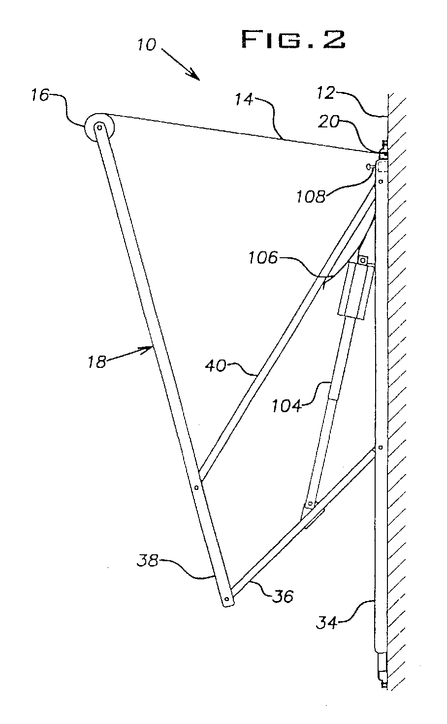 Awning extension and retraction mechanism - Patent 0980787