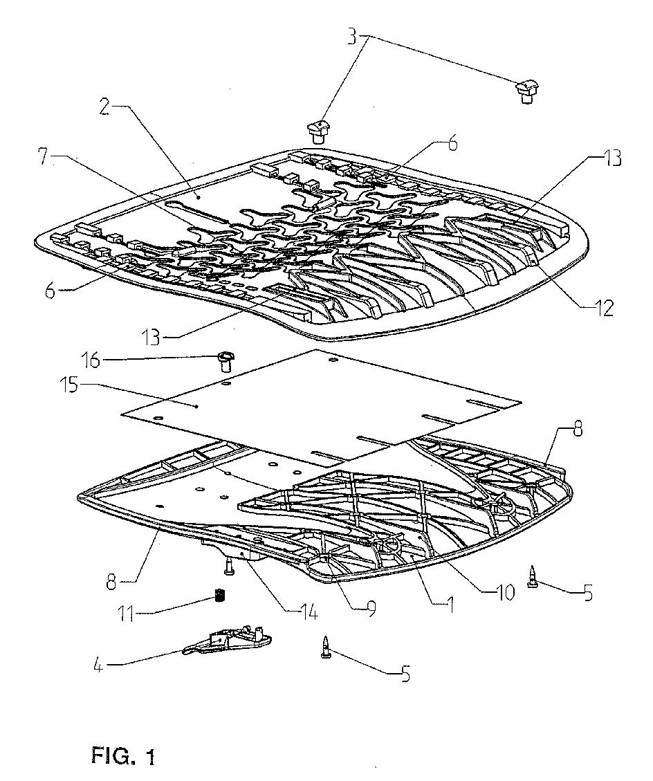 Stuhl Mit Verstellbarer Sitztiefe Patent 1302134