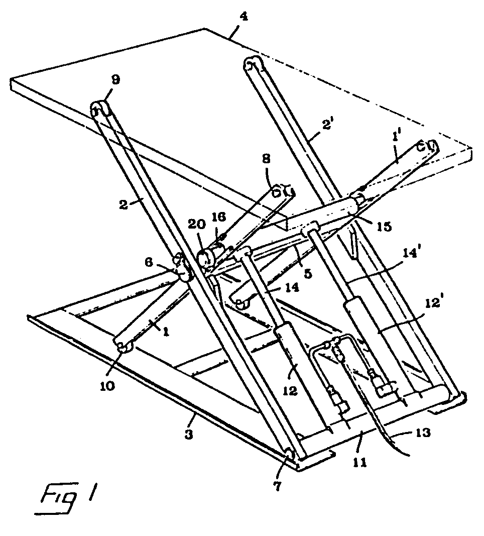 Lifting table - Patent 0136986