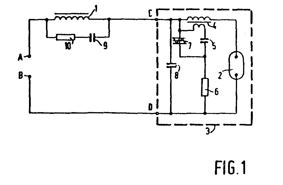 Schaltungsanordnung Zum Zunden Und Betrieb Von Gasentladungs Lampen Patent 0178735