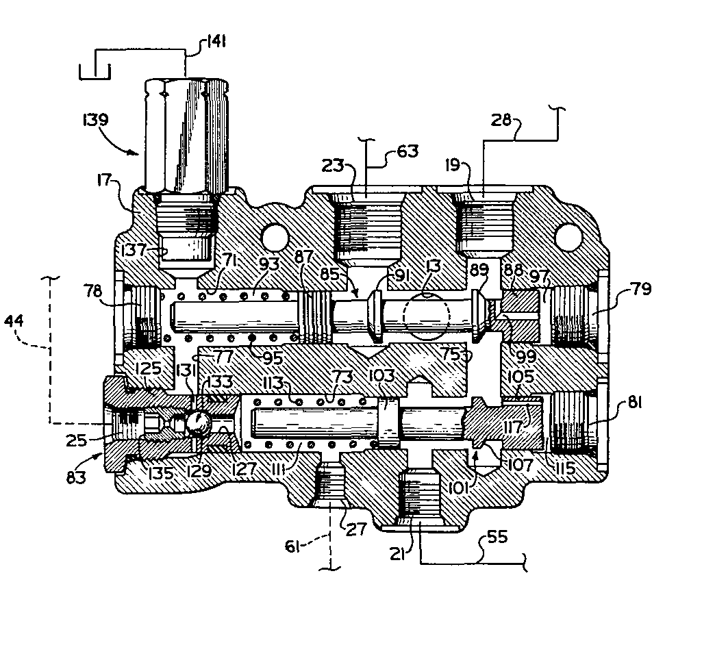 Control valve assembly, in particular for use in a vehicle hydraulic