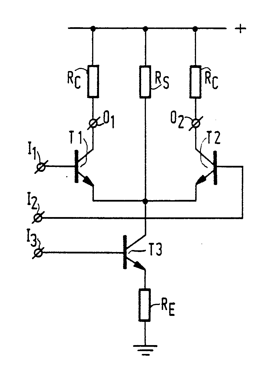 Uhf Amplifier Mixer Circuit Patent 0232560 Current Transistor Shunt Path Rs To A Supply Voltage For Conveying Constant Part Of The Direct T From This