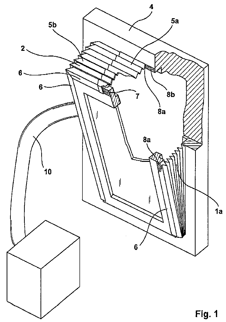 Adeckung Fur Ein Gekipptes Oder Geoffnetes Fenster Patent 2199525