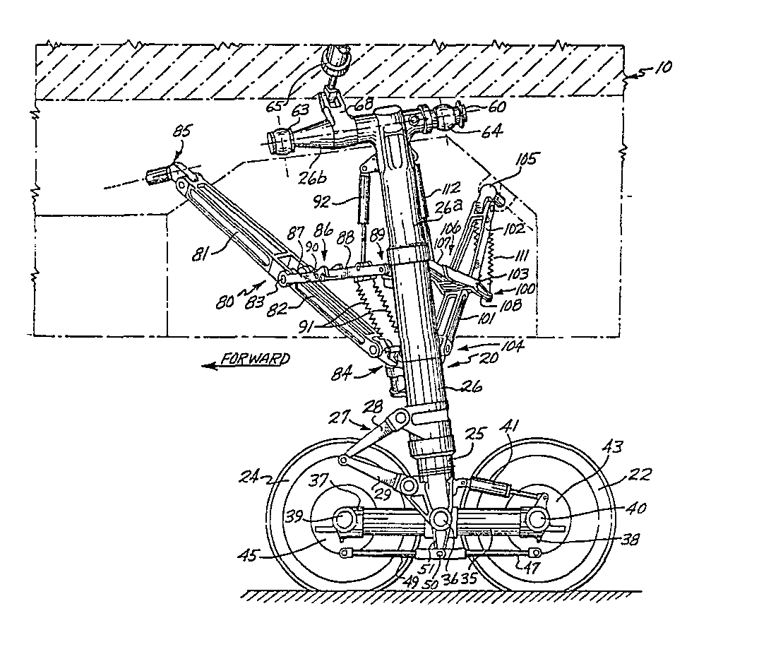 Airplane main landing gear assembly - Patent 0031602