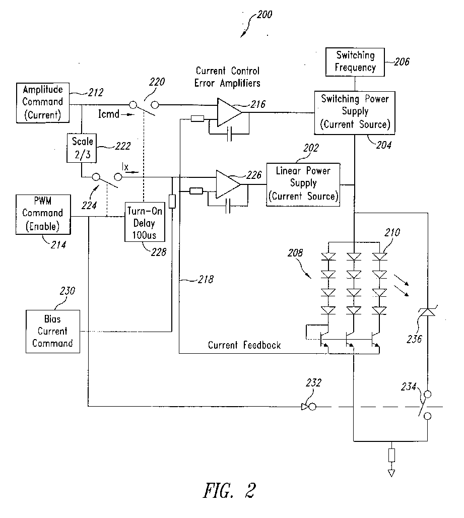 Apparatus amd method to provide a hybrid linear/switching