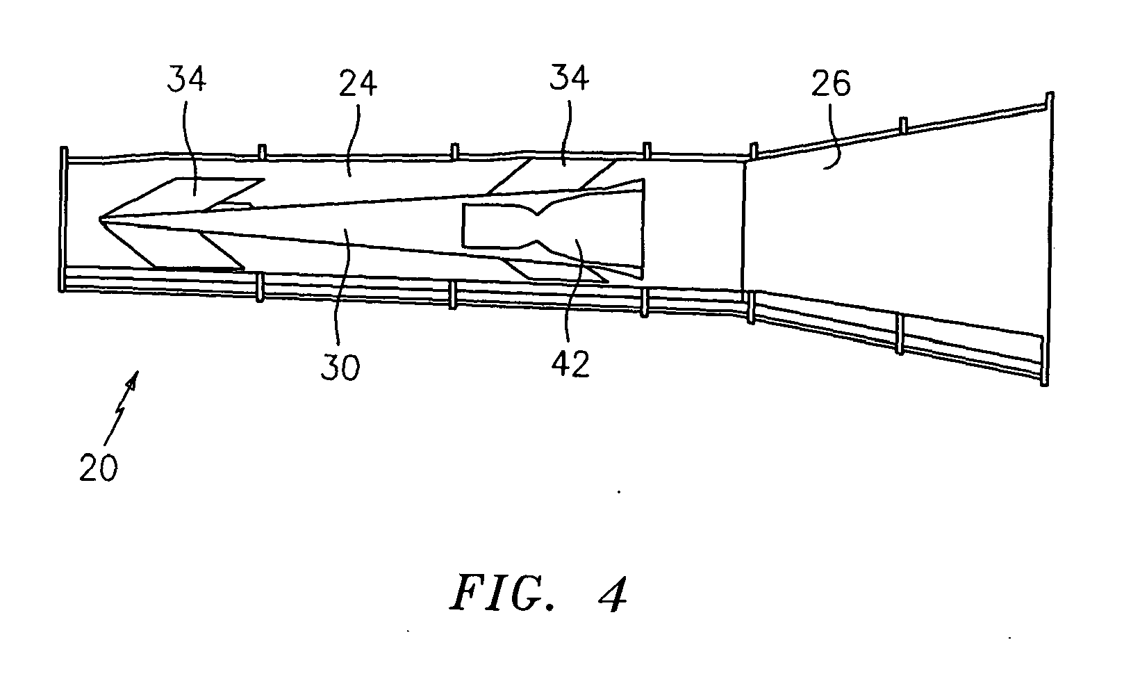 Scramjet/ramjet engine with annular isolator - Patent 1916407