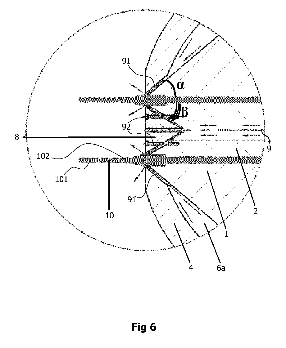 Method and apparatus for preventing the die drool at plastic