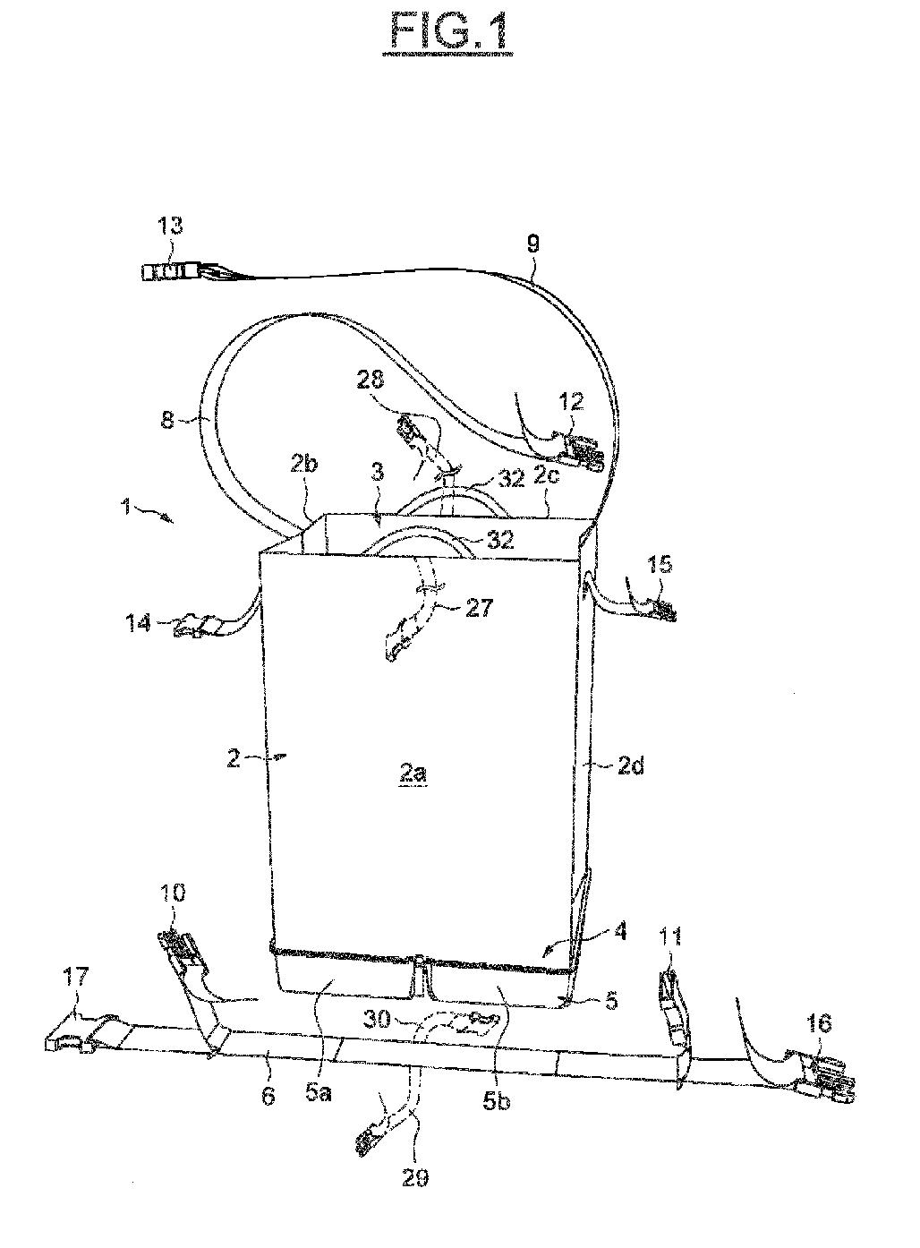 le caisson vertical 1 et dans le caisson horizontal suprieur 3 et leau tant rchauffe lors de son passage au voisinage de la chambre de combustion - Caisson De Decompression Cheminee