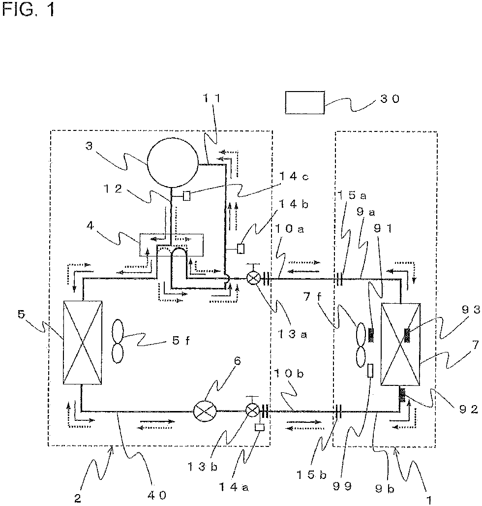 REFRIGERATION CYCLE APPARATUS AND REFRIGERATION CYCLE SYSTEM