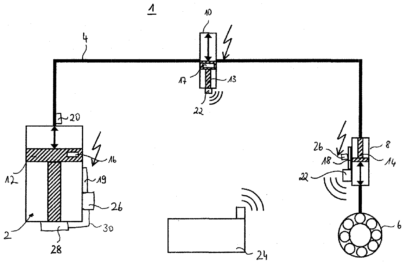 Hydraulic Loading Arms : Marine loading arm monitoring system patent