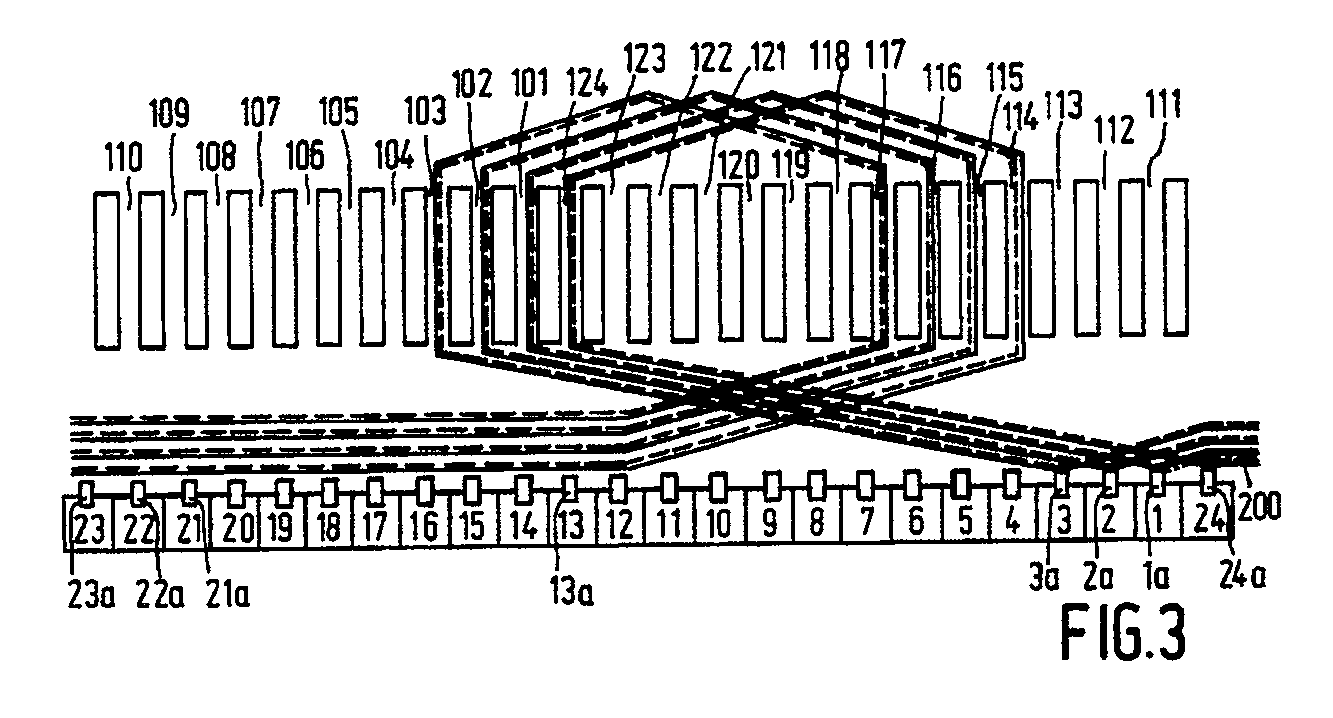 Method For Winding An Armature Body Of An Armature And Electric