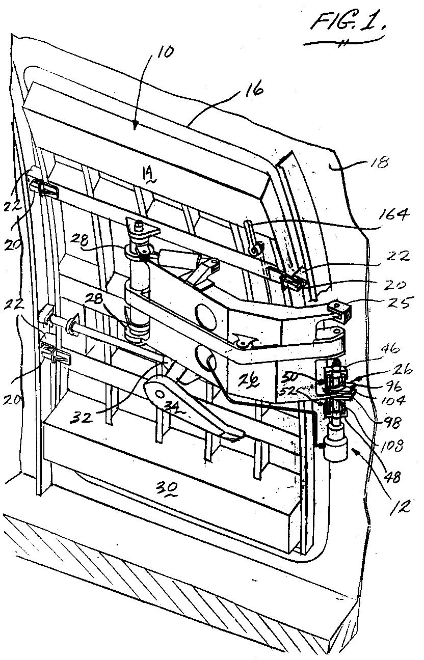 Cam-driven aircraft door actuactor - Patent 0512588