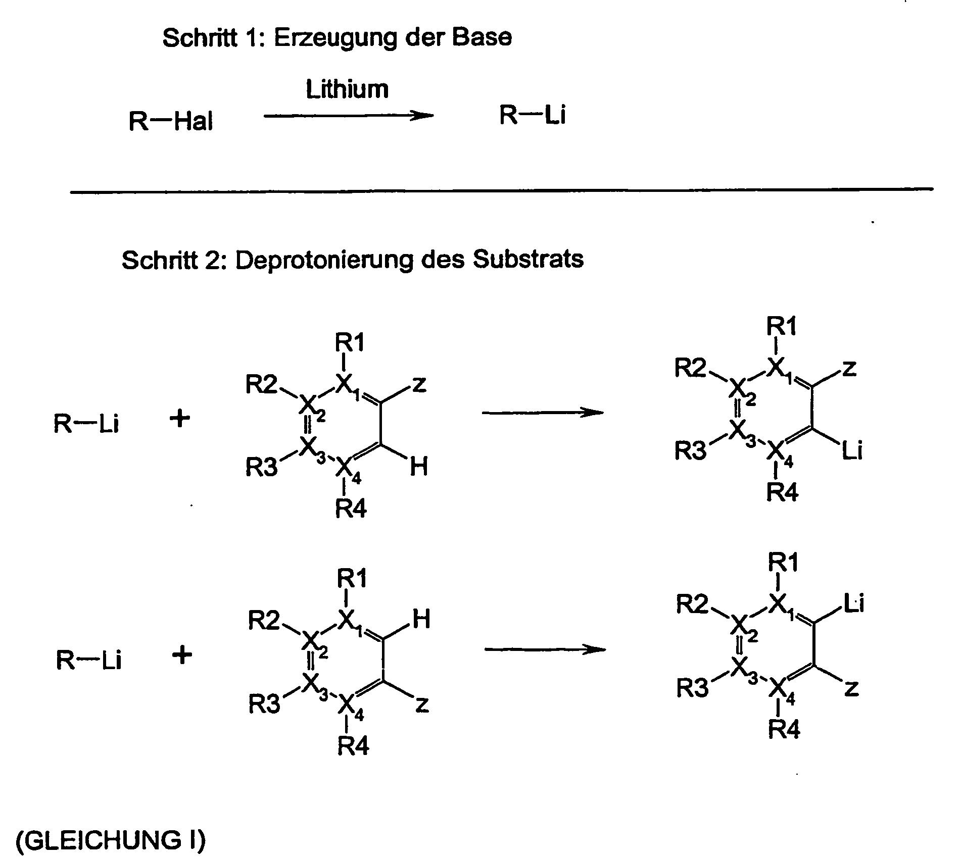 Verfahren Zur Metallierung Von Aromaten Durch