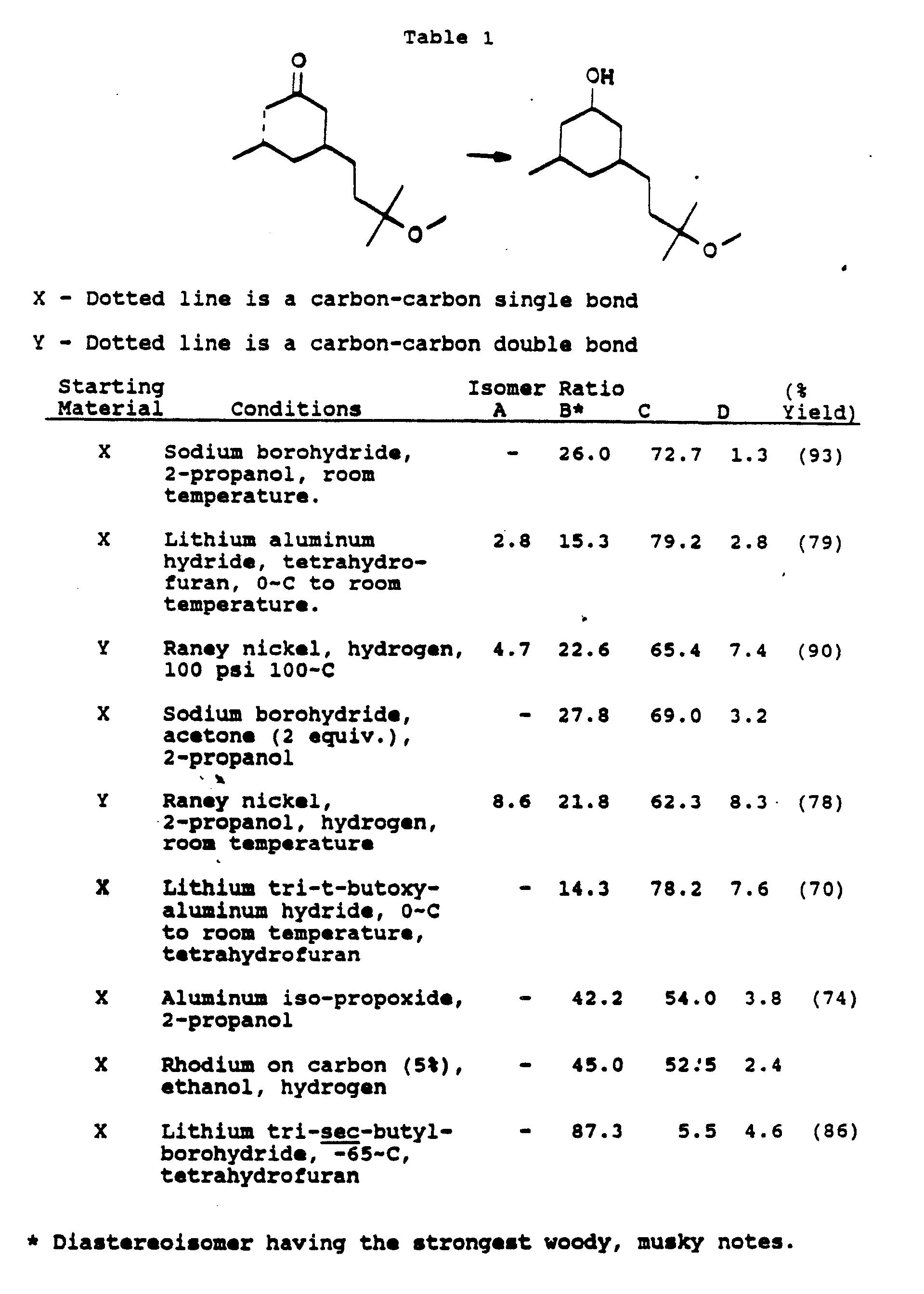Sandalwood odorants - Patent 0373556