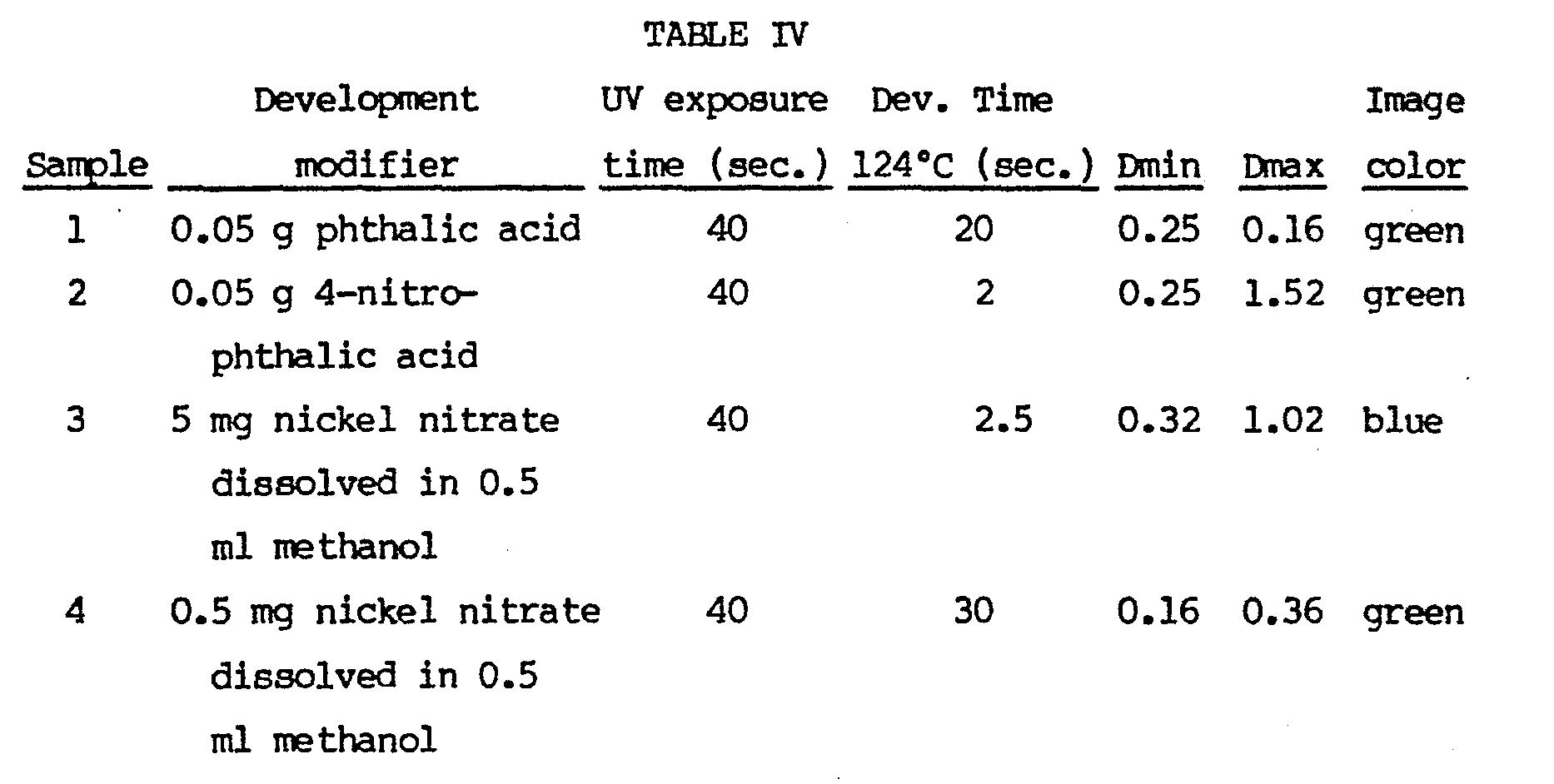 Photothermograhic accelerators for leuco diazine, oxazine
