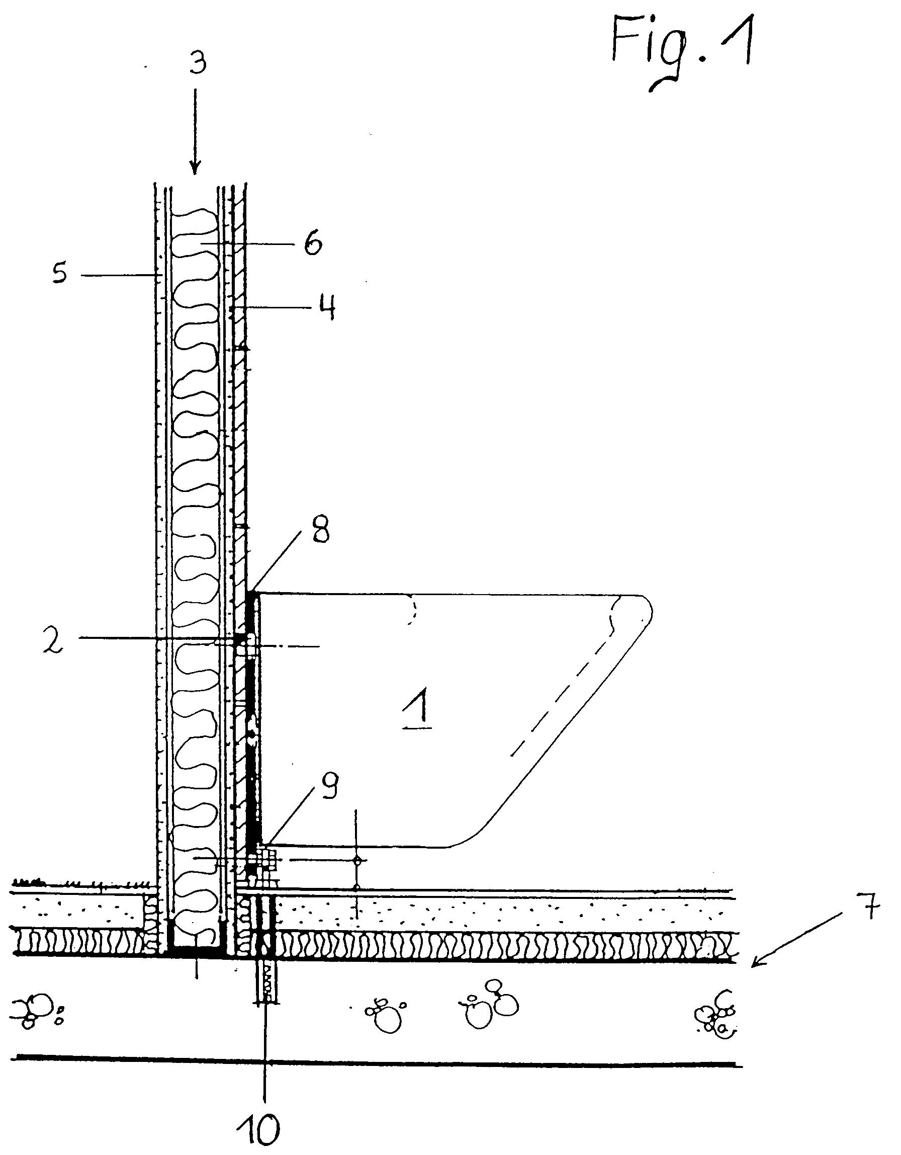 Befestigung Von Hangenden Sanitarobjekten Patent 0743403