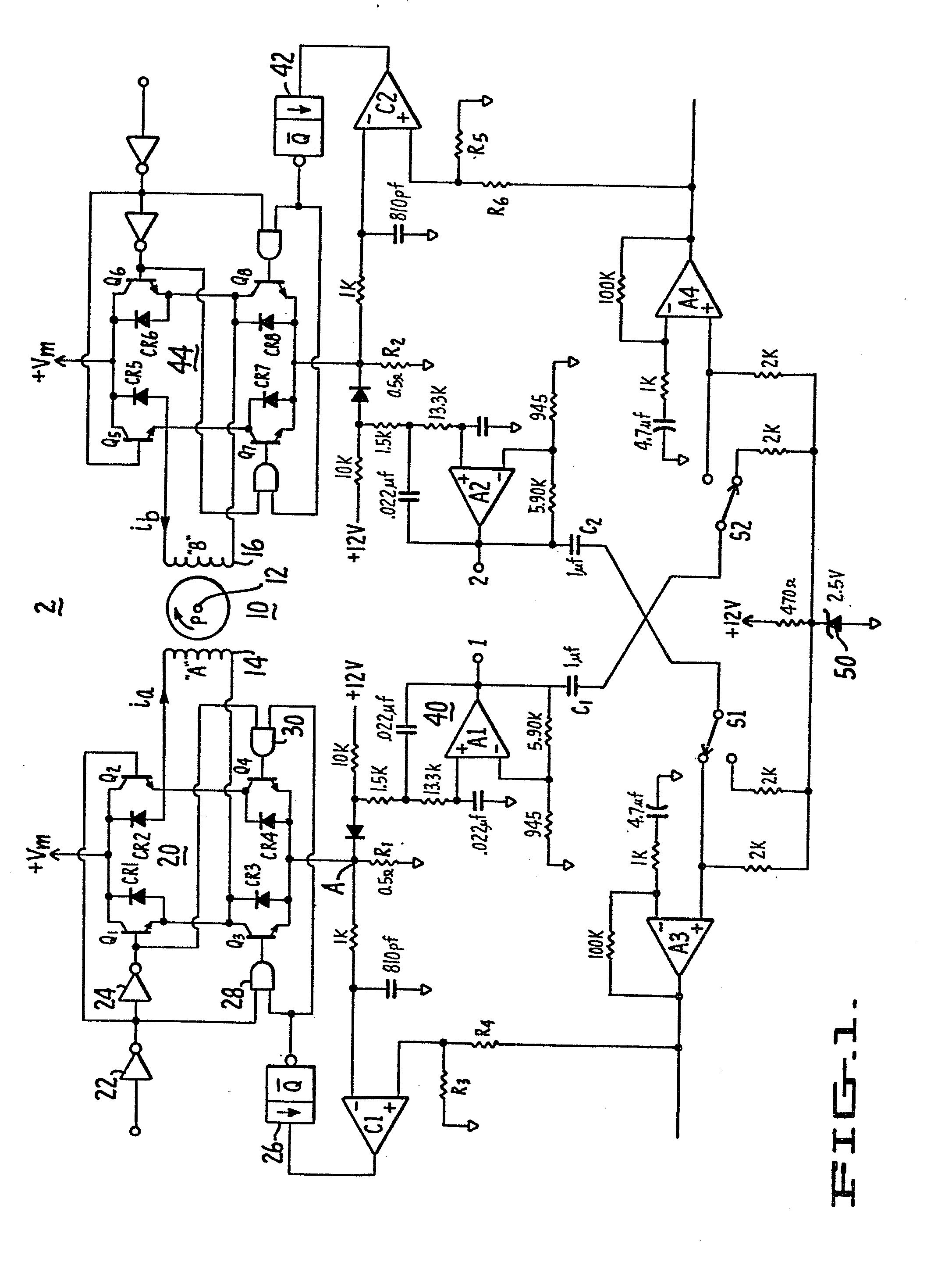 Stepper Motor Damping Circuit And A Method Therefor Patent 0135128 Diode Schematic Symbol Moreover Driver Diagram