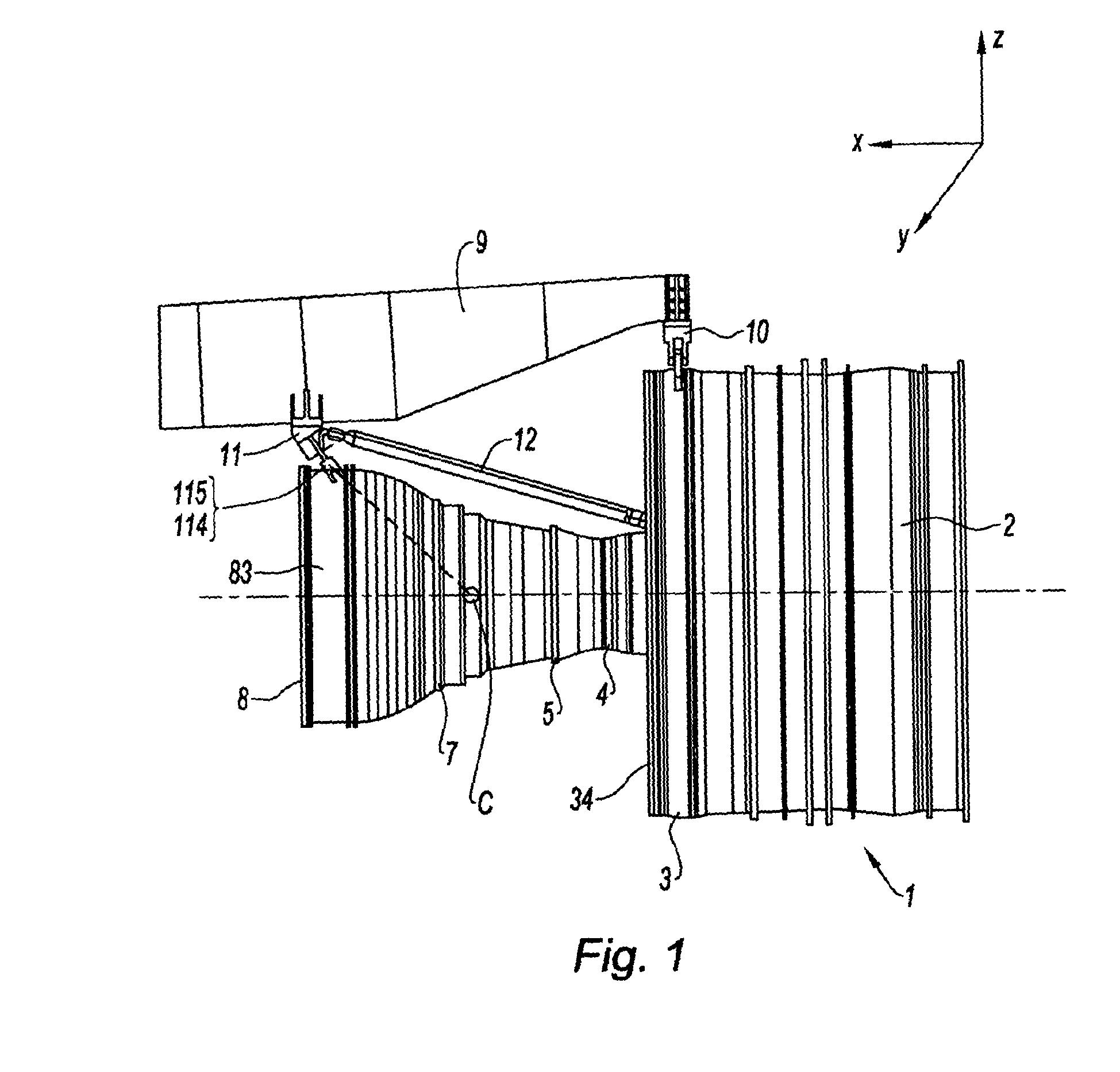 Suspension d'un turboréacteur à un aéronef - Patent 2067698