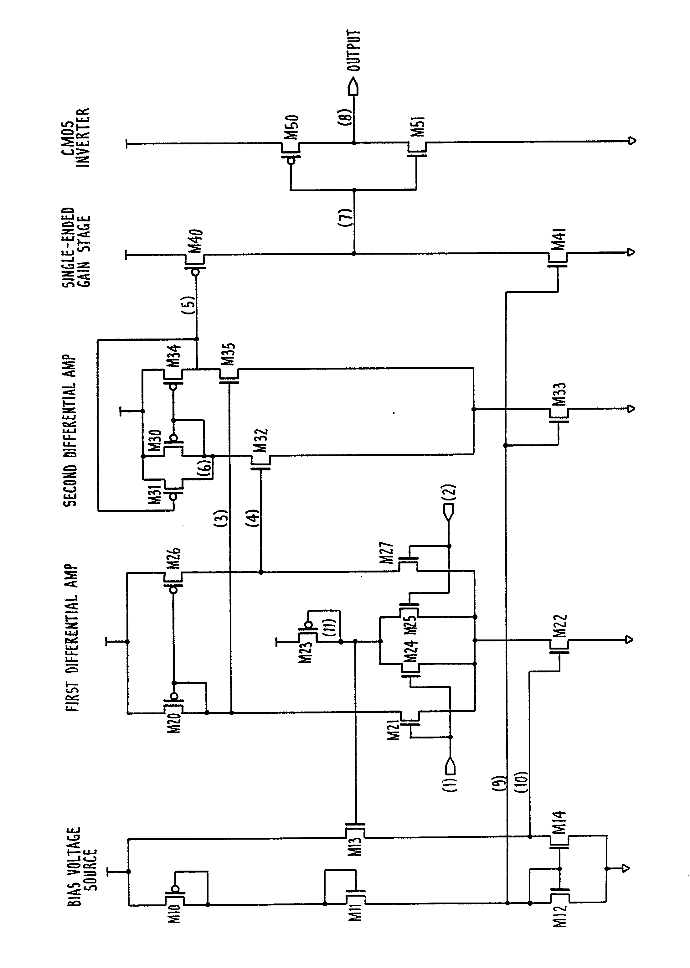 High Speed Cmos Comparator With Hysteresis Patent 0345621 The Following Open Collector Drain Circuit Drawing