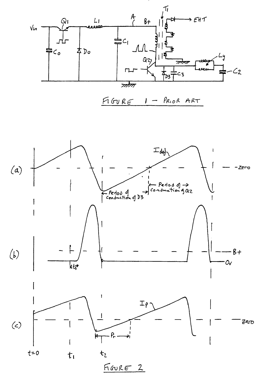 Horizontal deflection and EHT generator circuit - Patent 0397479
