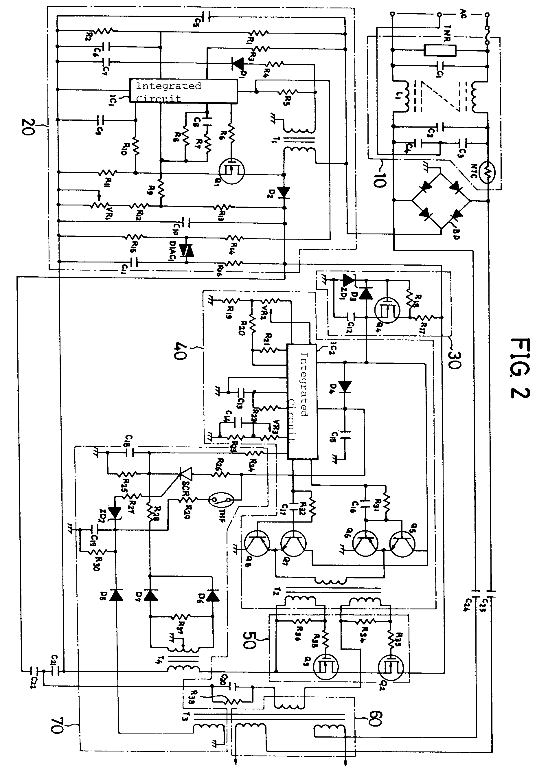 An Ultrapower Saving Inverter Circuit Which Makes Its Protective Integrated Diagram Drawing
