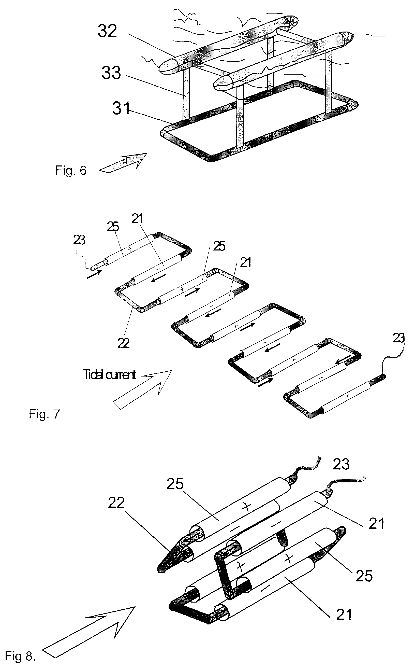 Magneto hydro dynamical tidal and ocean current converter - Patent