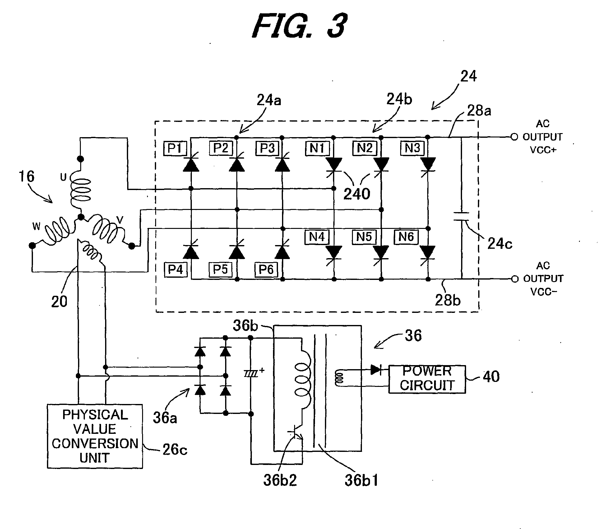 Cycloconverter generator   Patent 40
