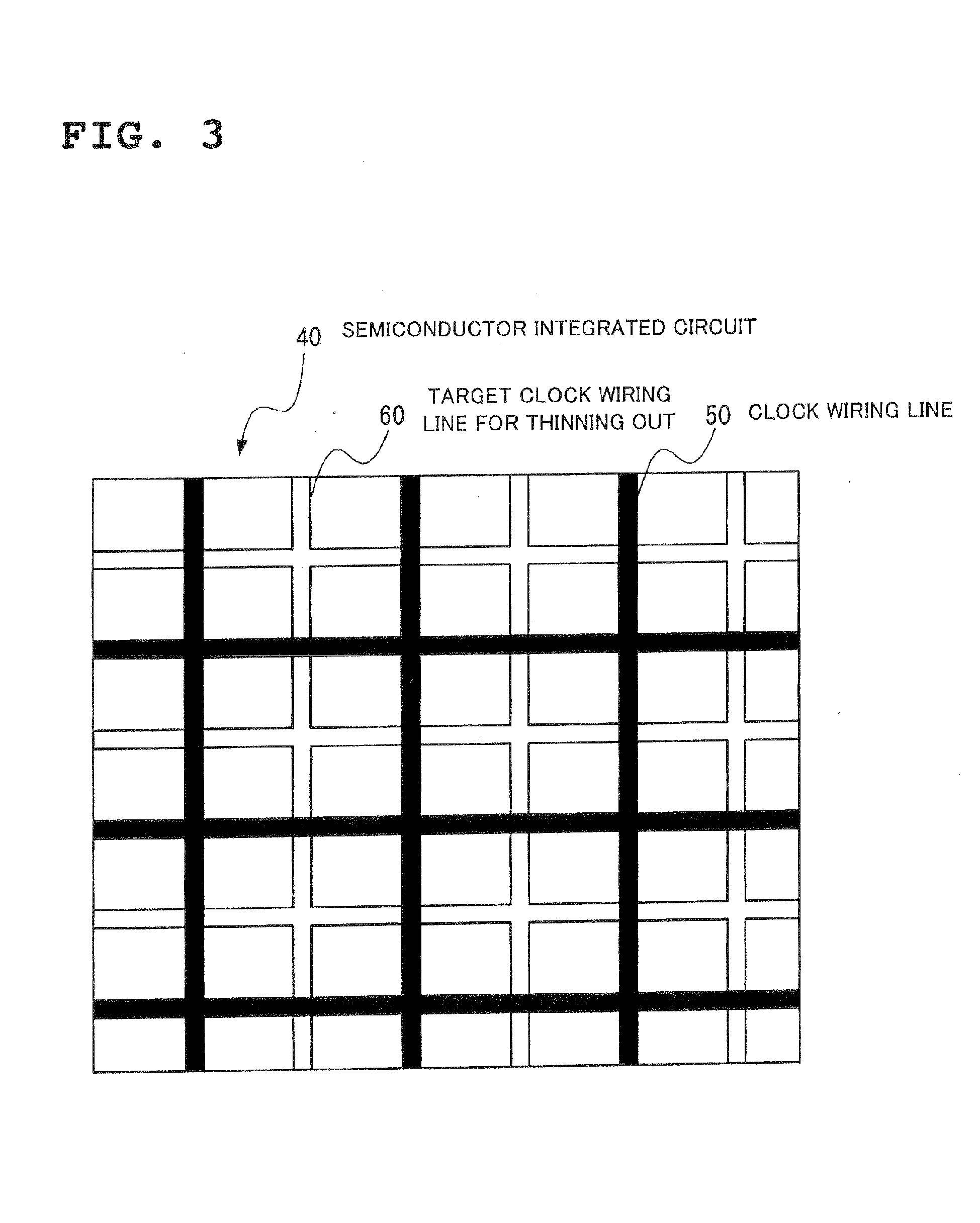 Wiring design system of semiconductor integrated circuit