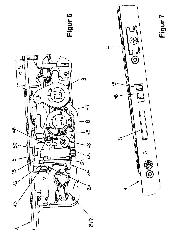Super Türschloss mit Verschlusselement und schaltbarem JR22