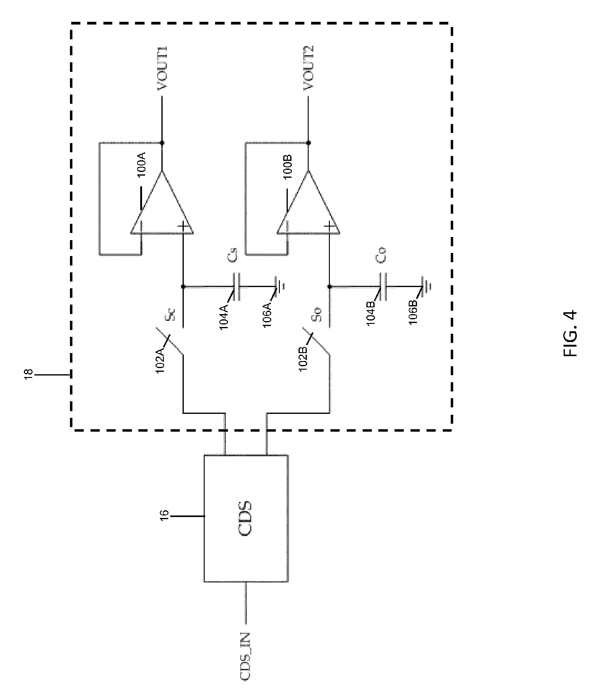 Digital Image Processing Readout Integrated Circuit Roic Having Audio Hiss Filter Drawing