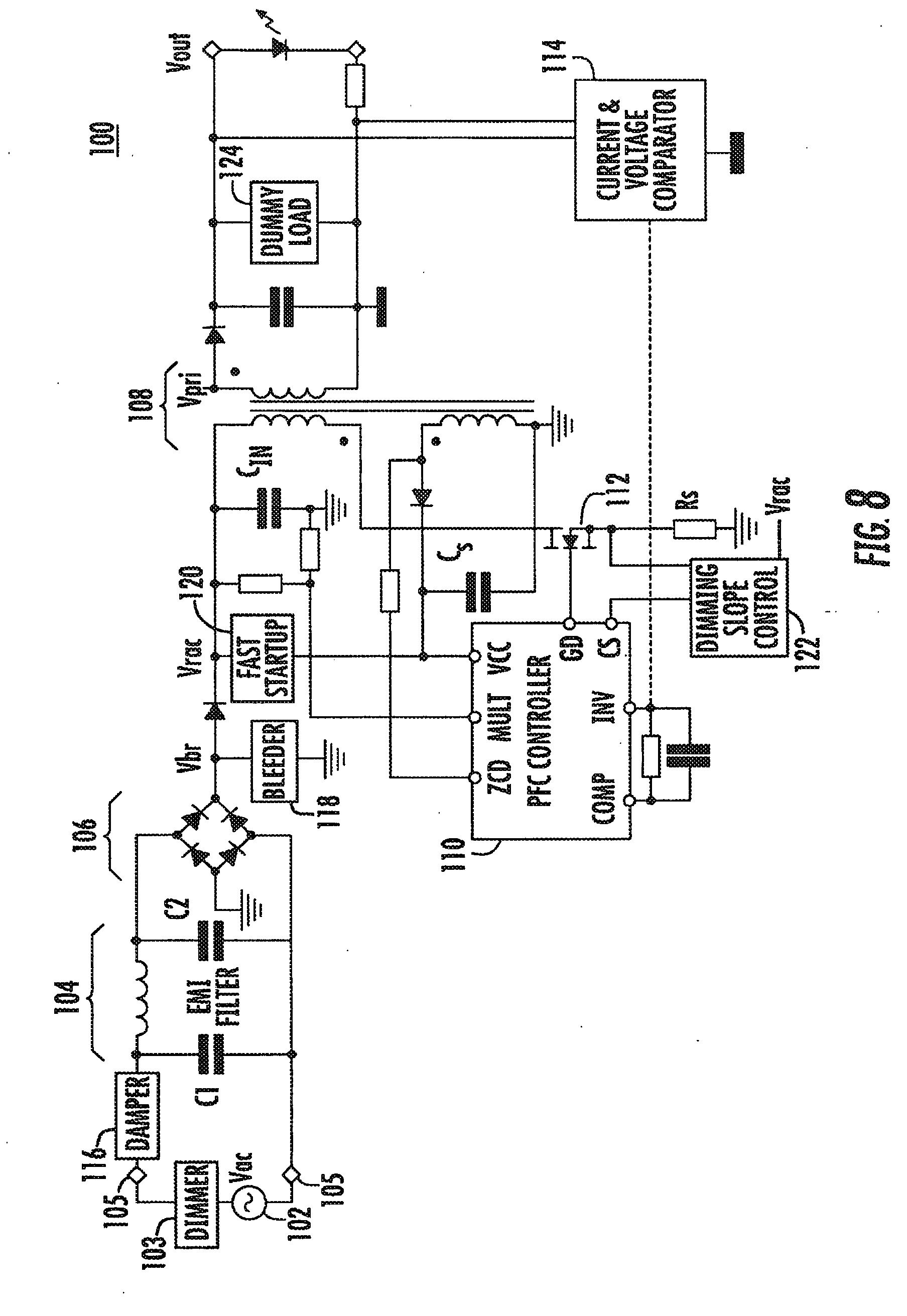 Triac Dimmable Power Supply Unit For Led Patent 2567596 Of Complete Circuit Diagram Firing Angle Control