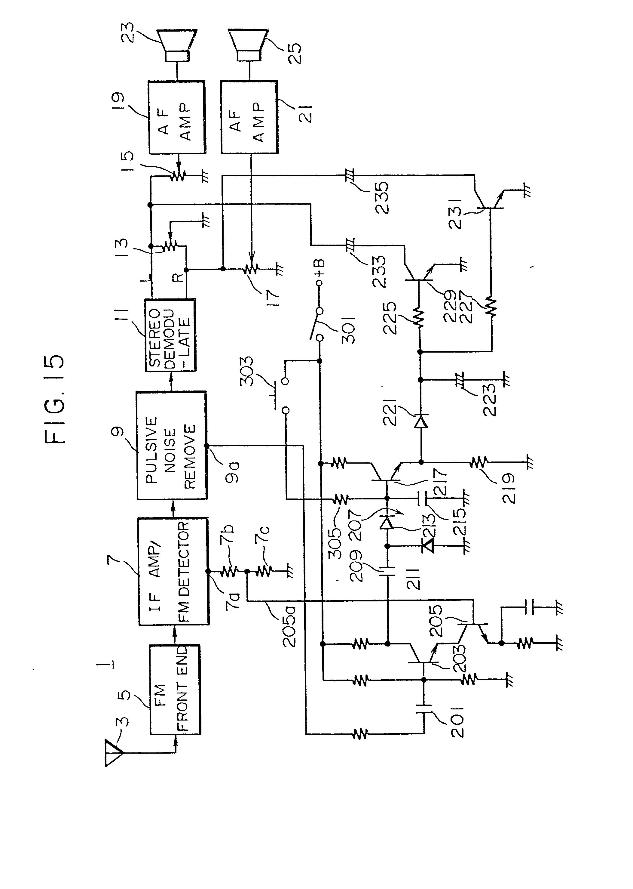 Distortion Reducing Circuit For An Fm Receiver Patent 0030874 Diagram Besides Radio Furthermore