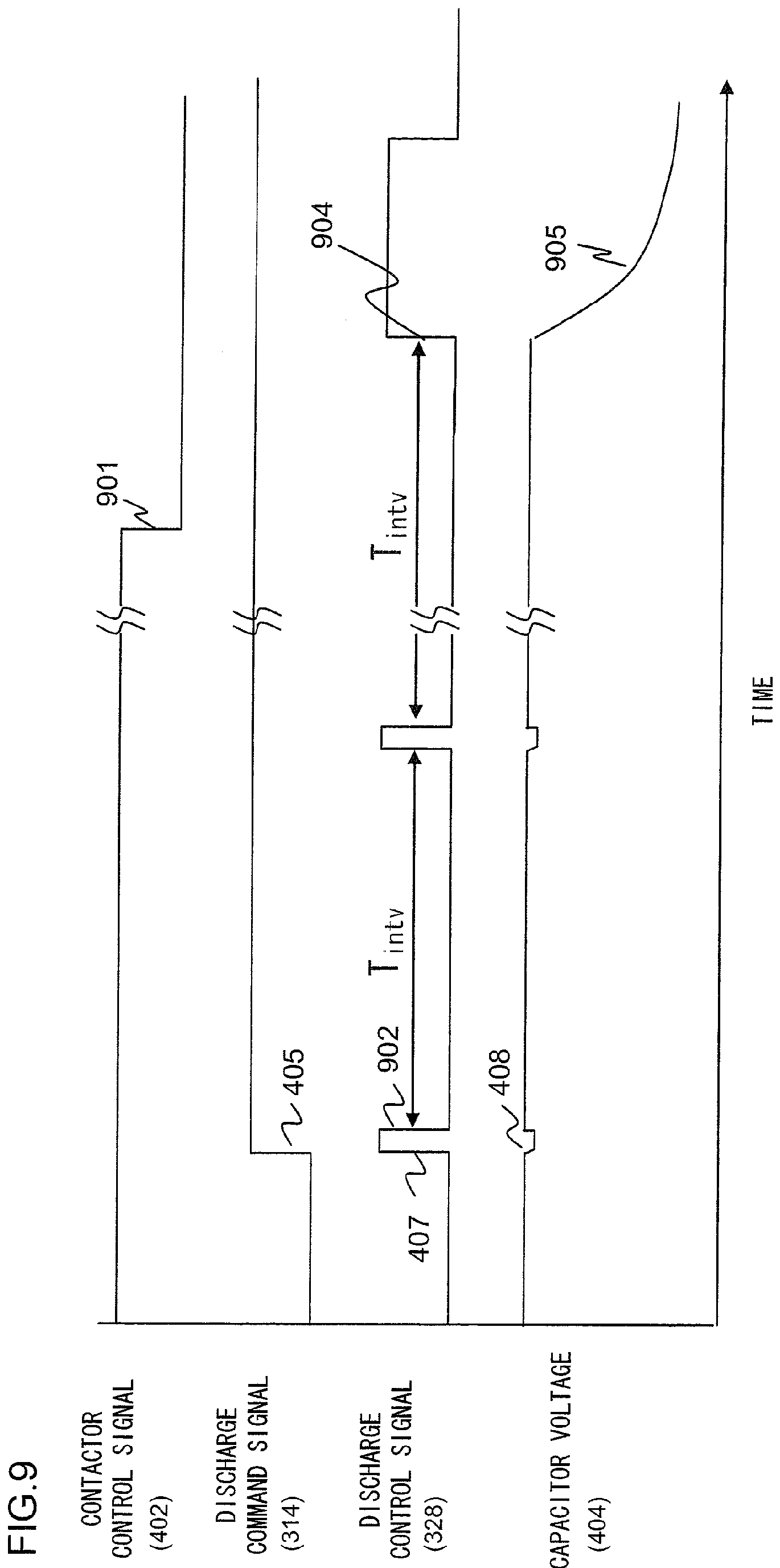 Discharge circuit for smoothing capacitor of DC power supply