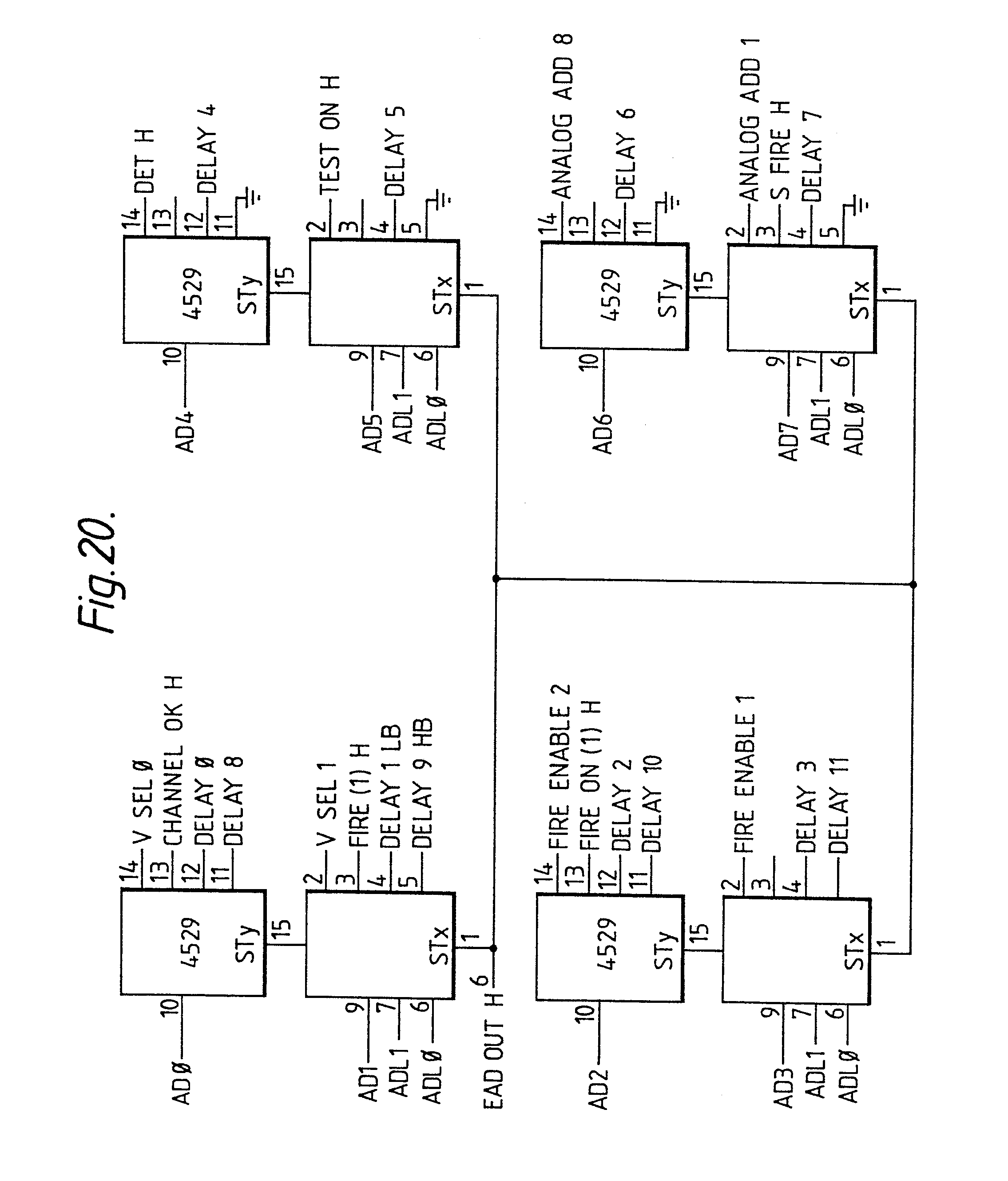 Apparatus for initiating explosions and method therefor