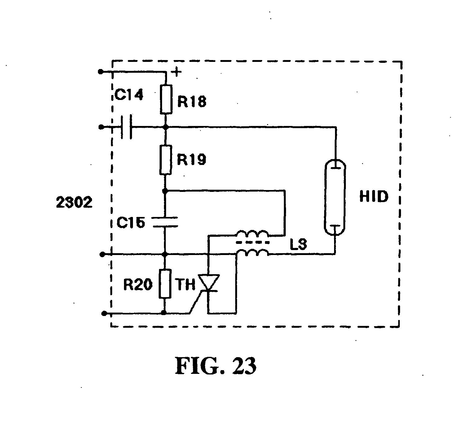 Electronic High Intensity Discharge Lamp Driver Patent 1526763 Ic Ne 555 Internal Block Diagram Drawing