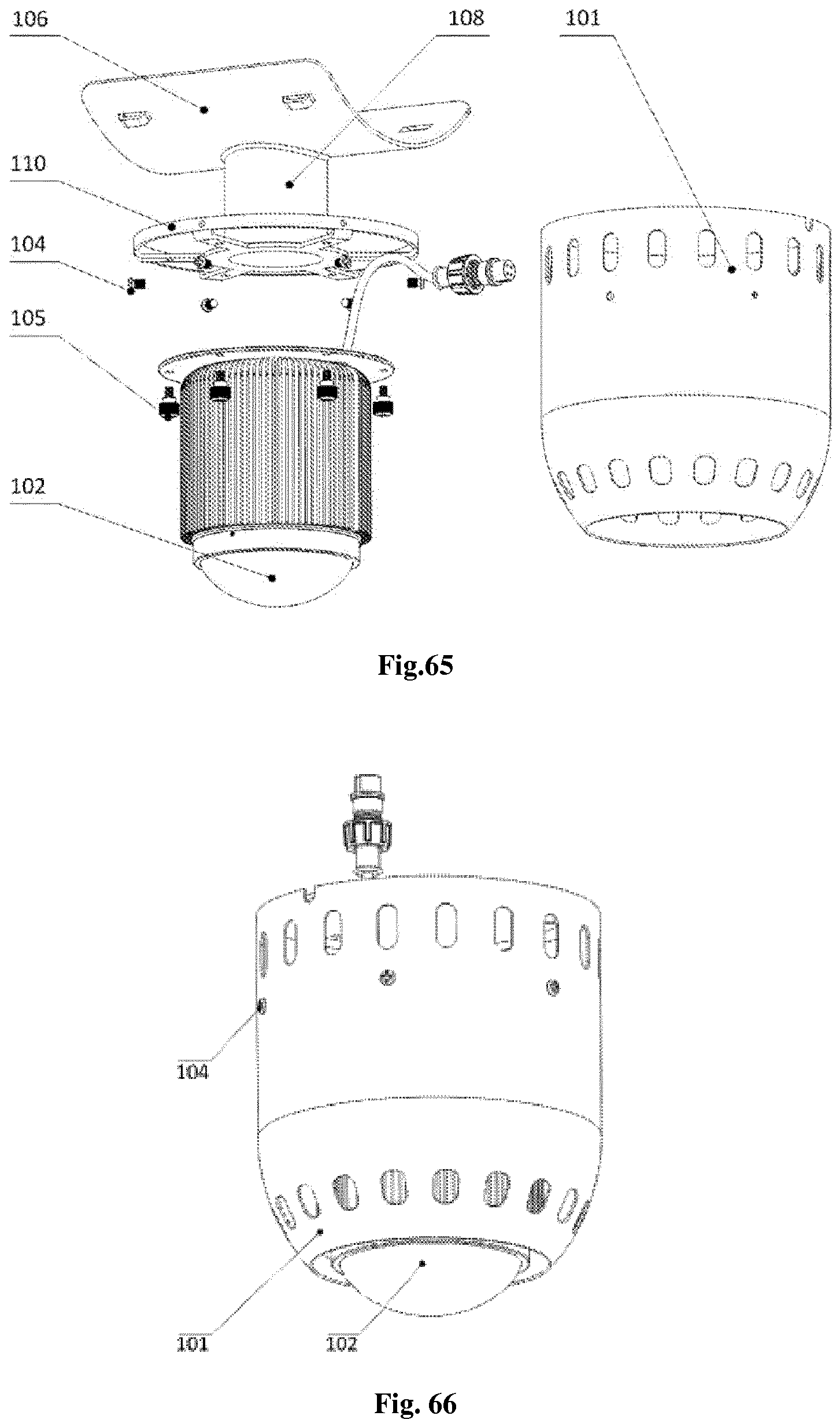 METHOD FOR CONSTRUCTING UNIVERSAL LED BULB AND FLANGE SNAP RING TYPE on